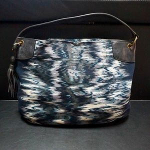 Banana Republic Printed Blue Bag